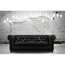 Black Leather Chesterfield Sofa Tov Zahara Chesterfield Sofa Reviews Wayfair