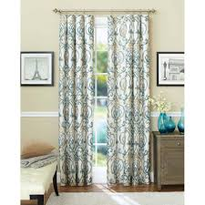 curtain panels decor walmart com ffca56d9efab 1 royal blue trellis