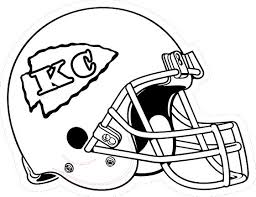 kansas chiefs coloring pages coloring