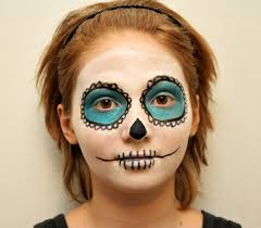 but simple is best sugar skull makeup tutorial