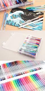 design fã r nã gel feast your on this bonanza of gelly roll gel ink pens