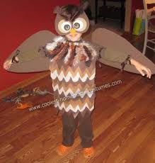 owl costume diy owl costume ribbon crafts owl and costumes
