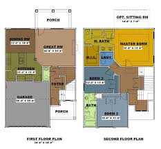 3 bedroom 2 story house plans pictures 2 floor 3 bedroom house plans the architectural