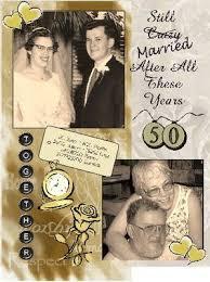 50th wedding anniversary photo album parent s 50th wedding anniversary scrapbook invitation opinions