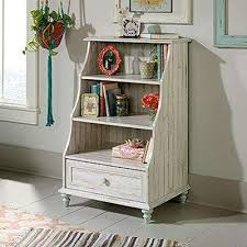 White Cottage Bookcase by Sauder Bookcases Home Office Furniture The Home Depot
