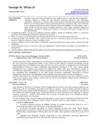 Mortgage Resume Samples by Business Objects Sample Resume Resume For Your Job Application