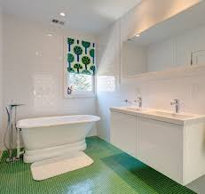 bathed in color when to use green in the bath