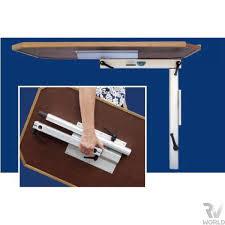 rv table pedestal adjustable lagun table pedestal shop rv world nz
