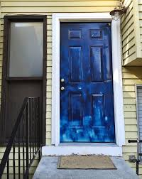 painting your front door the easy way the diy village interesting when to paint your front door blue pictures exterior