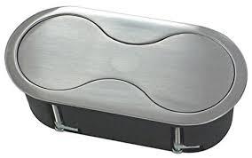 prise escamotable cuisine prise encastrable en acier inoxydable élément de prises de courant