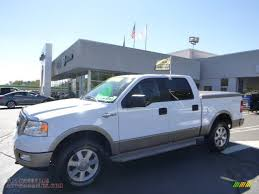 2005 Ford F150 King Ranch 4x4 2005 Ford F150 King Ranch Supercrew 4x4 In Oxford White Photo 7