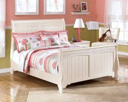 Ashley Bedroom Furniture Set by Cottage Retreat Full Sleigh Bed Bedroom Furniture Beds Ashley