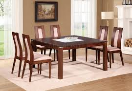 Global Furniture Dining Room Sets D4921dt Dining Set In Burn Beech W D3905dc Chairs By Global