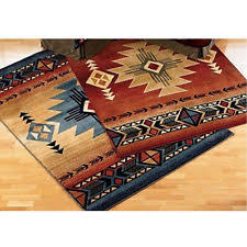 Southwestern Throw Rugs Blue Southwestern Area Rugs Ebay