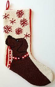 chocolate lab christmas stocking christmas mosaic