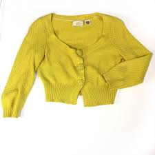 yellow sweater 67 anthropologie sweaters anthropologie crop yellow sweater