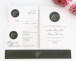 gray wedding invitation suite u2013 wedding invitations