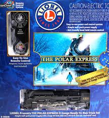 lionel o 6 30218 polar express passenger lionchief remote train