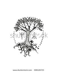vector image black white sketch template stock vector 562241980