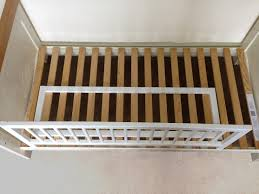 Baby Dan WOODEN BED GUARDRAIL BabyChildToddlerKids Bedding - Guard rails for bunk beds
