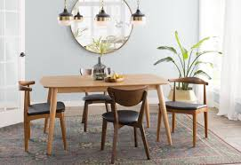 60 dining room table chastain 60 wood dining table reviews birch lane