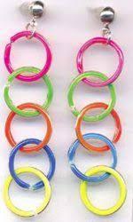 eighties earrings 80s jewelry 80s earrings 80s hair accessories