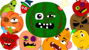 ten in the bed fruits fruits song learn fruits scary nursery
