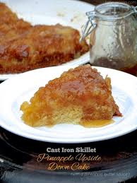 cast iron skillet pineapple upside down cake