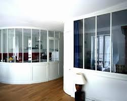 cloison vitree cuisine salon cloison vitrée atelier cloison vitre cuisine cheap cloison vitree