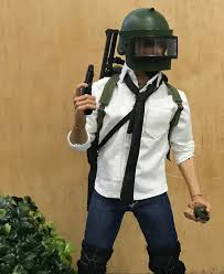 1 pubg player my first kitbash i made a 1 6 scale pubg player actionfigures