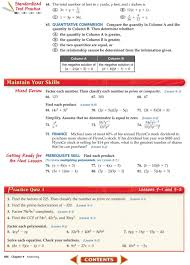 Factoring X2 Bx C Worksheet Holt Algebra 1 Lesson 9 Quadratic Equations And Functions Jennarocca