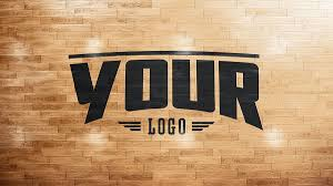 Basketball Court Floor Texture basketball court logo mockup on behance