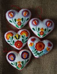 25 unique felt hearts ideas on ornament tolle