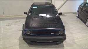 Golf Gti Mk2 Interior Volkswagen Golf Mk2 Gti Tuned 1990 Exterior And Interior Youtube