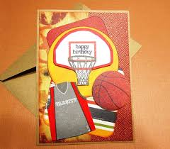 basketball theme birthday card for dad grandpa son uncle