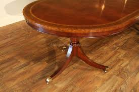large oval mahogany double pedestal dining room table with inlay dining table large oval inlaid walnut victorian style pedestal