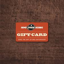 digital gift card send joe s kc gift card joe s kansas city barbecue