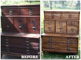 Staining Bedroom Furniture Furniture Makeovers With Stain Diy Furniture Before And Afters