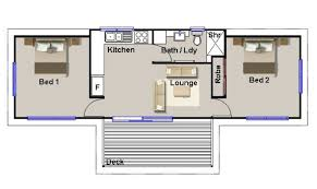 Two Bedroom Granny Flat Floor Plans 25 Simple 2 Bedroom Guest House Floor Plans Ideas Photo House