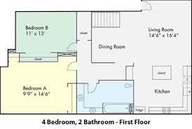 4 Bedroom Apartment by Uc Davis Student Housing Sha The Colleges At Le Rue