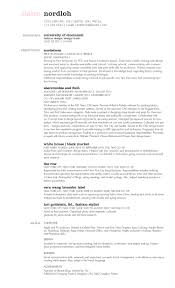 Abercrombie And Fitch Resume Resume U2014 Claire Nordloh U0027s Portfolio