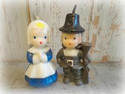 pilgrim candles thanksgiving vintage gurley thanksgiving candles pilgrim set of 2 pilgrim
