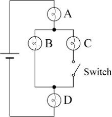 which light bulb is the brightest solved the circuit below contains an ideal battery four