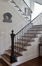 Stair Banisters Railings How To Design Wrought Iron Stair Railings Http Www