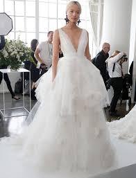 Wedding Dress Trend 2018 The Biggest Wedding Dress Trends From Spring 2018 Bridal Fashion