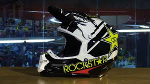 motocross helmet rockstar fly racing f2 carbon rockstar motorcycle helmet review youtube