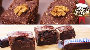 Brownies By Hervé Cuisine Http Recette De Brownies Snickers Vs Brownies Musculation