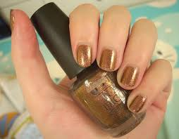 best copper nail polishes through the looking glass