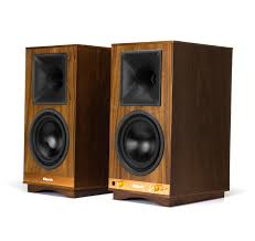 home theater front speakers open box klipsch the sixes walnut speakers pair