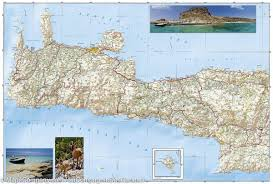 Map Of Crete Greece by Map Of Crete Greece National Geographic U2013 Mapscompany